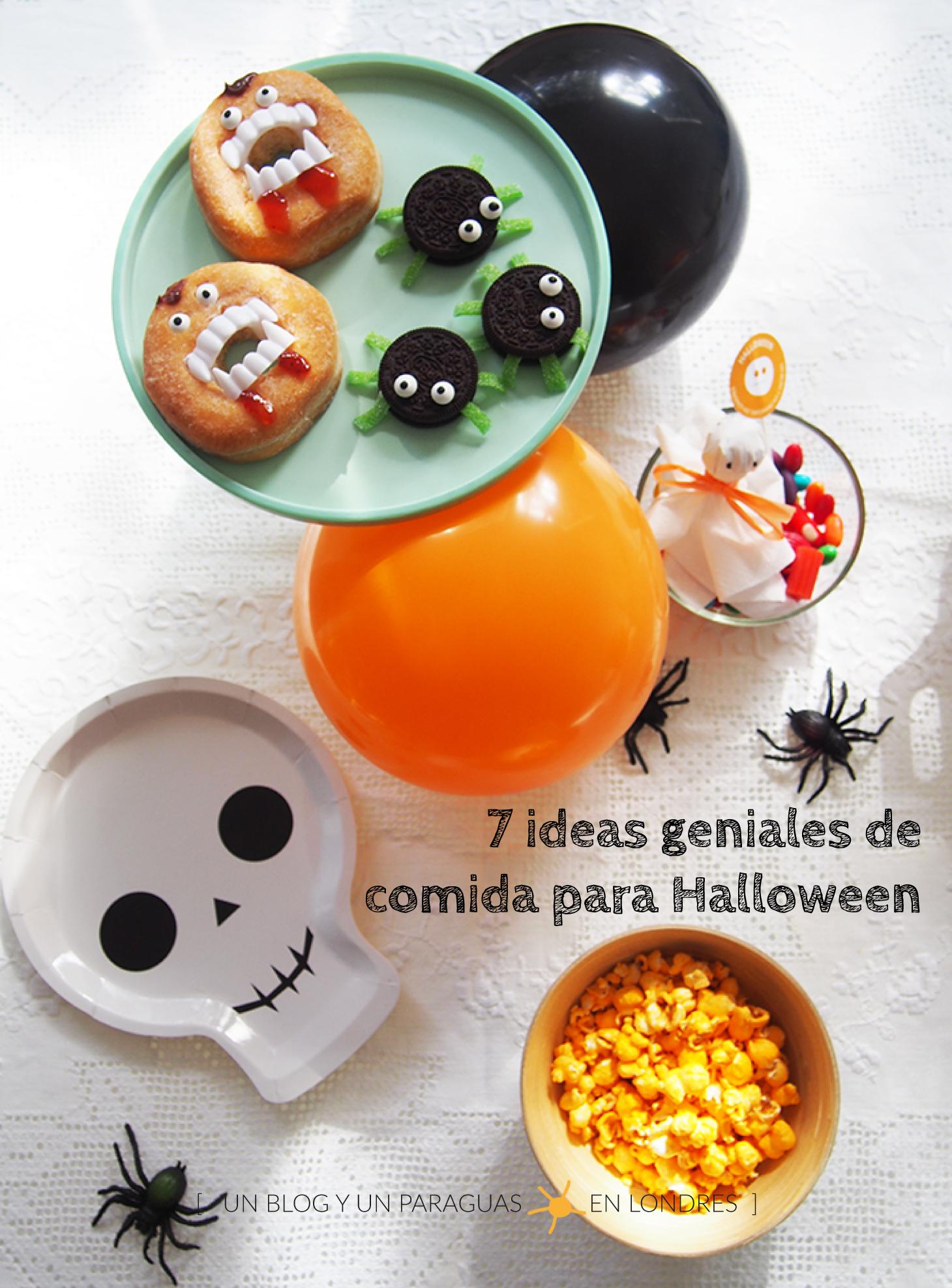 Ideas Geniales De Comida Para Halloween